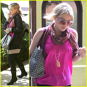 Hilary Duff's Pink Pleasure