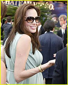 Angelina Jolie Names Twins Isla and Amelie?