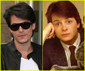 John Mayer's Hairspiration is Michael J. Fox