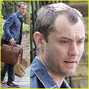 Jude Law is a London Luggage Lad
