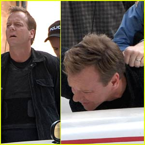 Kiefer Sutherland is Caught and Cuffed