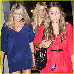 Lauren Conrad Parties With She-Pratt