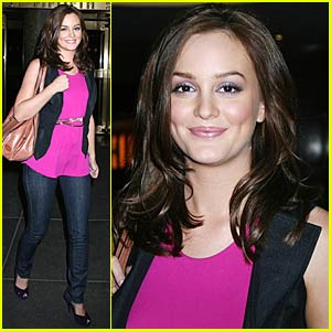 Leighton Meester's Happy Feet