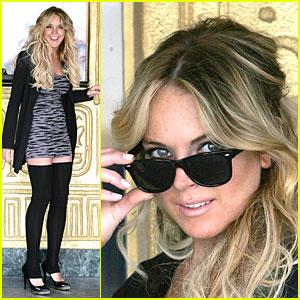 Lindsay Lohan Loves the Lens