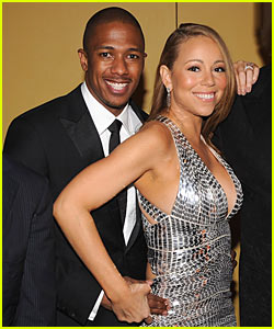 Mariah Carey & Nick Cannon Step Out For Time 100