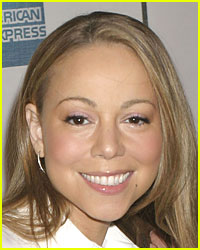 Mariah Carey in Wedding White