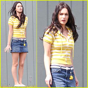 Megan Fox Has School Spirit