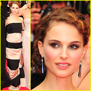 Natalie Portman Stripes Back
