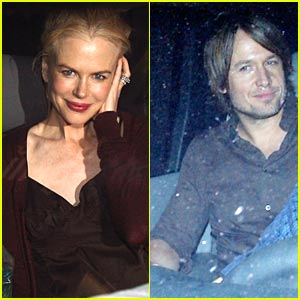 Nicole Kidman Hits Up Bryan Adams Concert