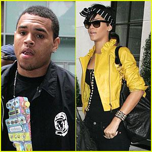 Rihanna & Chris Brown's Funky Footwear