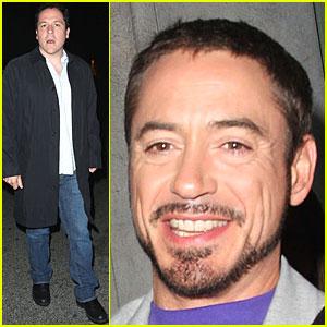 Iron Man Downey Jr. is a Swinger