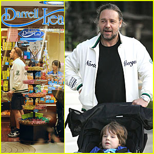 Russell Crowe: I'll Take You to the Candy Shop