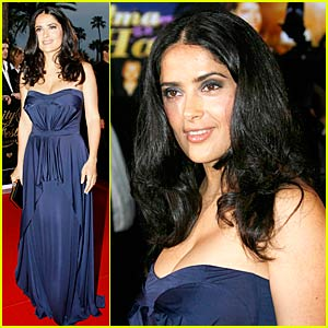 Salma Hayek is a Poker Princess