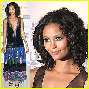 Thandie Newton Loves Lavender