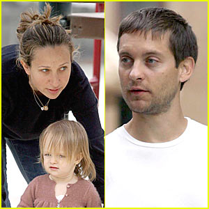 Tobey Maguire's Sweetheart Sunday