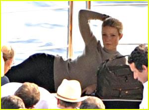 Gwyneth Paltrow & Tod Take to the High Seas