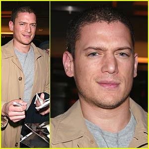 Wentworth Miller is Upfront and Center