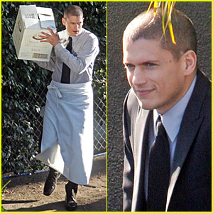Wentworth Miller is a Waiter. Wentworth Miller is a Waiter