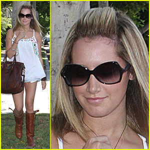 Ashley Tisdale is Neil Georgeous