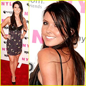 Audrina Patridge Wears Nylon in MySpace