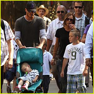 The Beckhams Do Disneyland