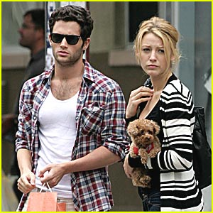 Blake Lively & Penn Badgley are Cab Cuties