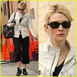 Cate Blanchett is a Kung Fu Mommy