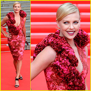 Charlize Theron is Very Valli in Moscow
