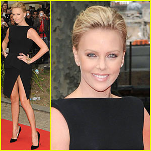 Charlize Theron Goes Nearly Hip-High