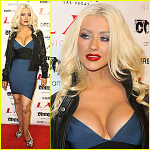 Christina Aguilera is a Luxor Lady