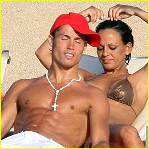 Cristiano Ronaldo and Nereida Gallardo are Beach Buddies