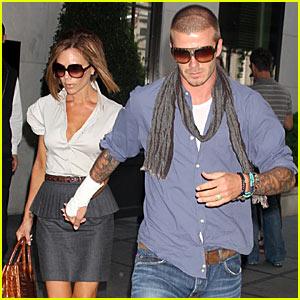 David Beckham is Bandaged