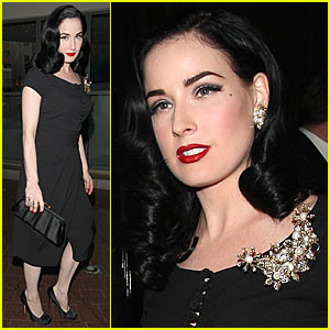 Dita Von Teese is a Wolseley Woman