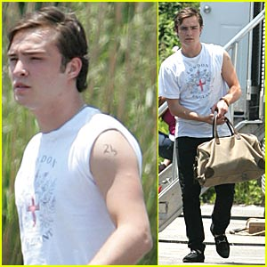 Ed Westwick: You're Just a Tattoo