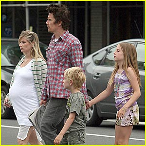 Happy Father's Day, Ethan Hawke!