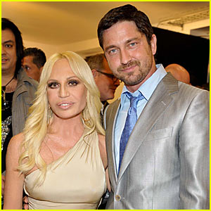 Gerard Butler is Looking Very Versace