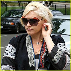 Gwen Stefani Has Wild Sunglasses