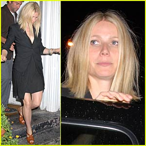 Gwyneth Paltrow's Post-Concert Party