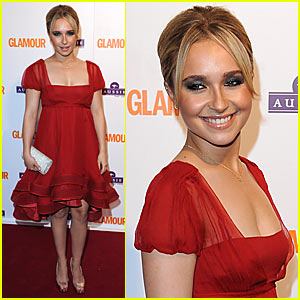 Hayden Panettiere is a Glamour Girl