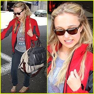 Hayden Panettiere is a Newcomer