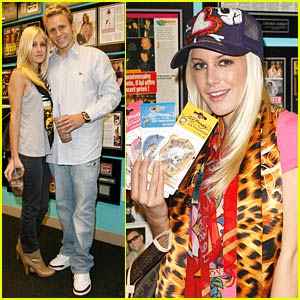 Heidi and Spencer Enamored With Ed Hardy