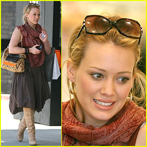 Hilary Duff is a Downtown Girl