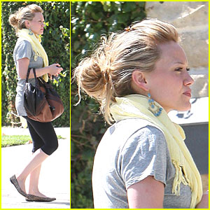 Hilary Duff is a Happy Homebody