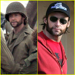 Hugh Jackman is a Soldier