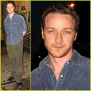 James McAvoy's Corner Deli Dinner