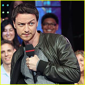 James McAvoy is Quite Animated at TRL