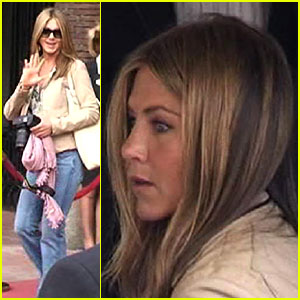 Jennifer Aniston's Amsterdam Adventure