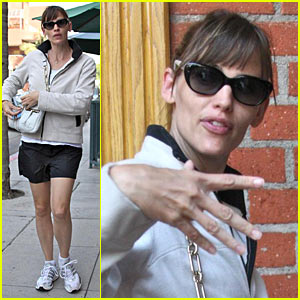 Jennifer Garner Goes Down to the Dentist