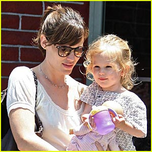 Jennifer Garner is an Early Bird