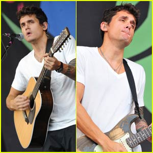John Mayer's Gig at Glastonbury